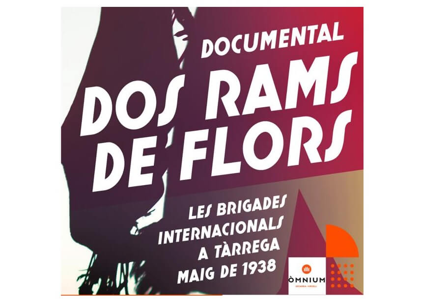 Presenten el documental 'Dos rams de flors' a Agramunt